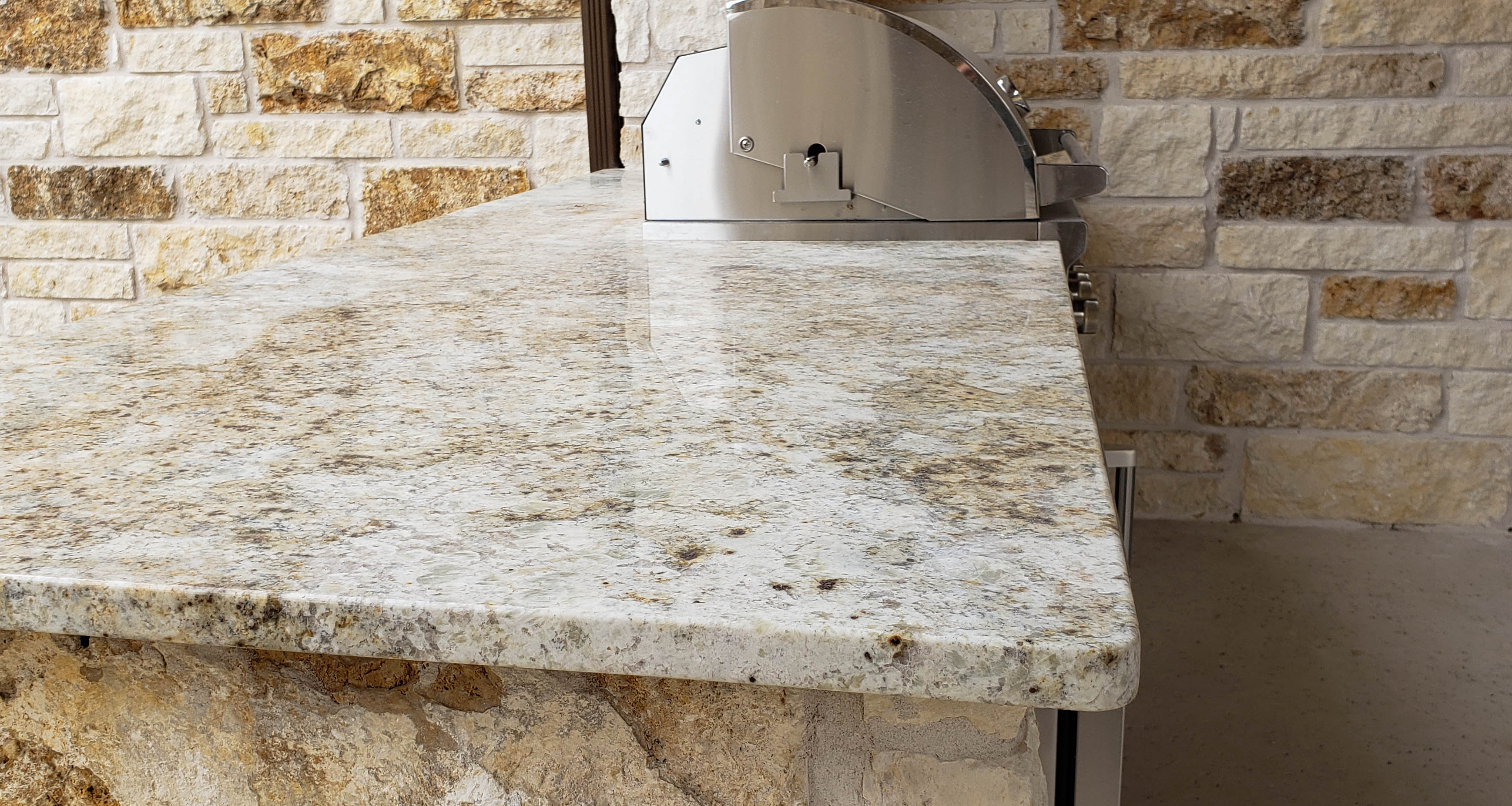 outdoor kitchen granite countertops austin texas