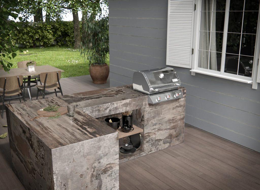 dekton trillium outdoor kitchen cosentino