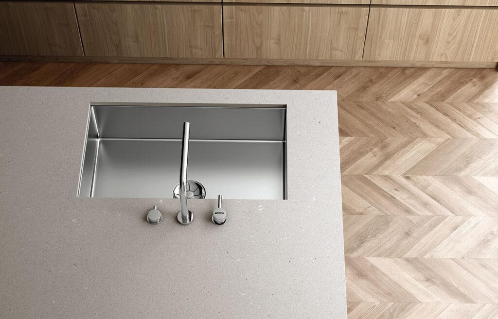 camden by silestone loft kitchen countertop